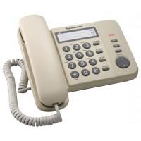 Проводной телефон Panasonic Проводной телефон Panasonic/ Бежевый