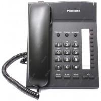 Проводной телефон Panasonic Проводной телефон Panasonic/ Черный