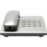 Проводной телефон Panasonic Проводной телефон Panasonic/ Серебристый